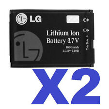 2 FOR 1 LGIP-520B Cell Battery for AX310 MN180 VX5400 VX5500 VX8350 VX8360