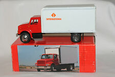 1988 International Model 4000 Van Body Truck, Scale Model, in Box
