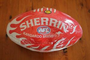 SYDNEY SWANS SHERRIN AFL FOOTBALL KANGAROO BRAND SYNTHETIC RUBBER