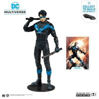 DC Rebirth Build Action Figure Nightwing Multiverse McFarlane 18 cm