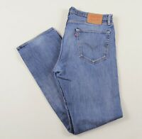 Vintage LEVI'S 504 Blue Regular Straight Fit Men's Jeans 38W 34L 38/34 /J32033