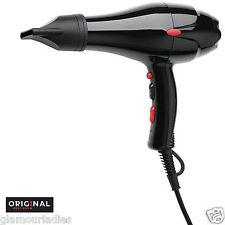 Professional Hair Dryer Dreox Original Best Buy 2000 Watts Black Semi Compact