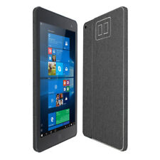 Skinomi Brushed Steel Skin & Screen Protector for HP Envy 8 Note Tablet Only