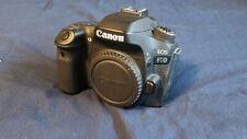 Canon EOS 80D 24.2 MP Digital SLR Camera - Black -2 lense bundle and more!!!