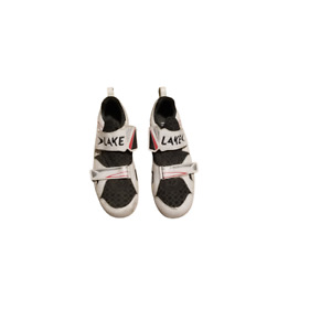 Lake TX212 Cycling Shoes White Black Red Men's 15