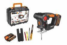 WORX WX550.1 18V (20V MAX) AXIS Multi-Purpose Saw with 2 Batteries. Brand New