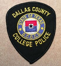TX Dallas County Community College District Texas Police Patch
