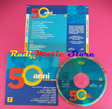 CD 50 ANNI DI CANZONI ITALIANE 7 compilation GAETANO RENATO ZERO no lp mc(C4) 5*