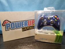 Xbox 360 Chrome Series Wireless Controller Blue (Sealed)