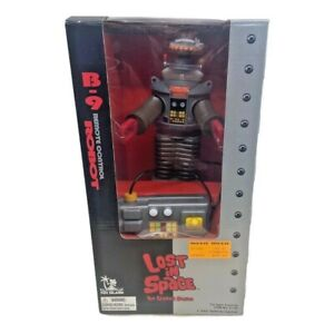Lost In Space B 9 Robot Remote Control Toy Classic Series 1998 Vintage SciFi New