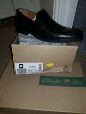 Mens leather clarks shoes size 7