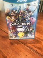Super Smash Bros for Wii U. Nintendo. Sora Limited. Tested Works.