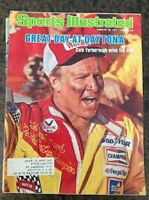February 28 1977 Cale Yarborough Nascar Sports Illustrated Magazine Car Racing