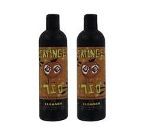 Orange Chronic x2 12oz Bottles Cleaner Glass Metal Pipe Hookah