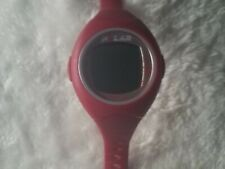 Polar F4 Women's Watch Red Digital Heart Rate Monitor Needs Battery