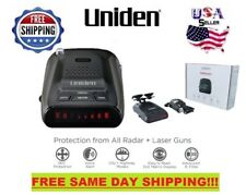 Uniden Laser Radar Detector Ultra Long Range Police DFR5 Voice Alert Mount Cobra