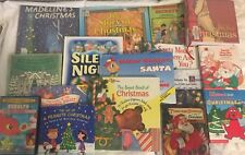 #O10 children's books lot Picture 16 Hardcover Paperback Madeline's Christmas