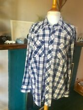Men's Vintage Sears plaid western shirt pearl snap buttons