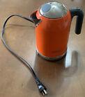 1.6L Orange Delonghi kMix Boutique Electric Water Boiler Kettle DSJ04 1500W 54OZ