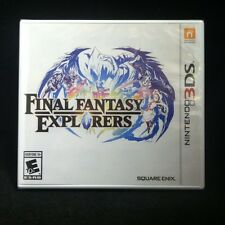 Final Fantasy Explorers (Nintendo 3DS, 2016) BRAND NEW
