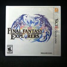 Final Fantasy Explorers (Nintendo 3DS, 2016) BRAND NEW