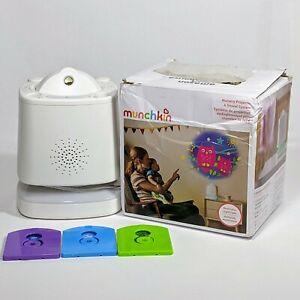 Munchkin Sound Asleep Nursery Projector and Sound Machine w/ LED Nightlight