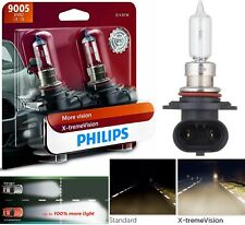 Philips X-Treme Vision 9005 HB3 65W Two Bulbs Light DRL Daytime Replacement Fit