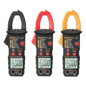 ST184 Digital Clamp Meter Multimeter True RMS AC/DC Voltage Current Tester