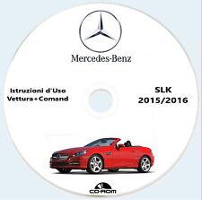 Mercedes-Benz SLK (R172),Istruzioni d'Uso vettura+Comand 2015