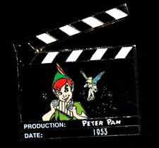 New Rare Disney Pin Trading LE500 Lot 120 LE 500 TinkerBell Peter Pan Clapboard
