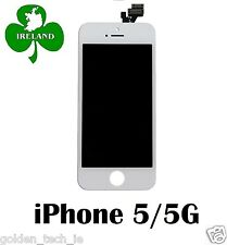 For iPhone 5 5G LCD Touch Screen Display Digitizer Glass Assembly Unit White