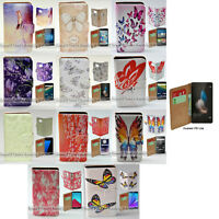 For Huawei Series Mobile Phone Butterflies Theme Print Flip Case Phone Cover #2