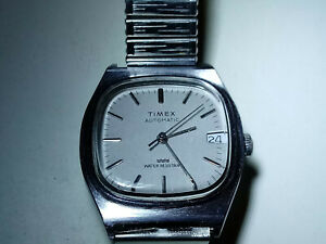 Vintage 1983 Timex Viscount Automatic Watch