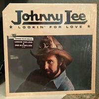"JOHNNY LEE - Lookin' For Love (Original Shrinkwrap) - 12"" Vinyl Record LP - EX"