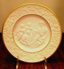 Lenox The Children's Blessing Relief Plate Christmas 1993 Limited Edition