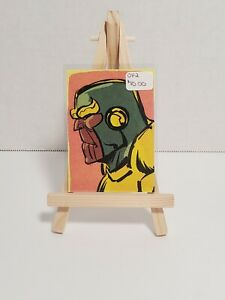 Bam! Geek * Artist Select Card * Marvel Comics * Thanos * Othell Flowers