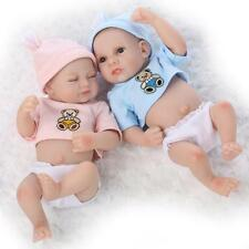 Handmade Real Looking Newborn Baby Vinyl Silicone Realistic Reborn Dolls