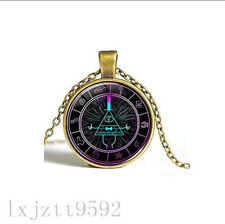 Wholesale Cabochon Glass Chain Pendant bronze Necklace ,Cipher Wheel Scrabble