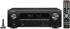 Denon AVR-X1500H  AV Receiver 7.2 Kanäle WLAN 4K Dolby Atmos Schwarz