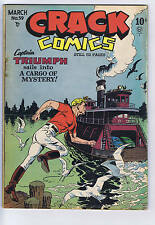 Crack Comics #59 Quality Pub 1949