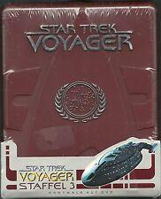 Star Trek Voyager Staffel 3 Hartbox Neu OVP Sealed Deutsche Ausgabe OOP Rar