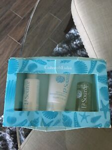 CRABTREE & EVELYN LA SOURCE Shampoo Conditioner Body Wash SET DAMAGED BOX