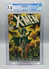 Uncanny X-Men #50 CGC 7.5 - 2nd app POLARIS, 1st new Logo Steranko Cover '68