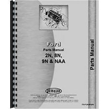 Parts Manual For Ford 8N Tractor (1947-1952)
