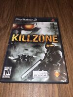 Killzone (Sony PlayStation 2, 2004) Complete And Tested Fast Ship