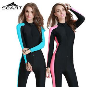 0.5mm Womens Full Wetsuit Surf kayaking Wear Ladies Steamer Swim Long Wet Suit
