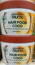 2X GARNIER FRUCTIS HAIR FOOD COCO - 2 FRASCOS 350ml c/u - ENVIO PRIORIDAD GRATIS