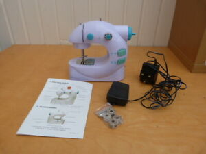 Electrical Plug-In Portable Sewing Machine Spools Instruction Manual