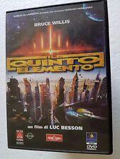 DVD USED IL QUINTO ELEMENTO - LUC BESSON BRUCE WILLIS -