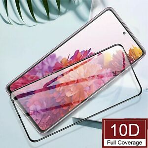 Tempered Glass Full Screen Protector For Samsung Galaxy S20 FE S10 Plus S9 S8